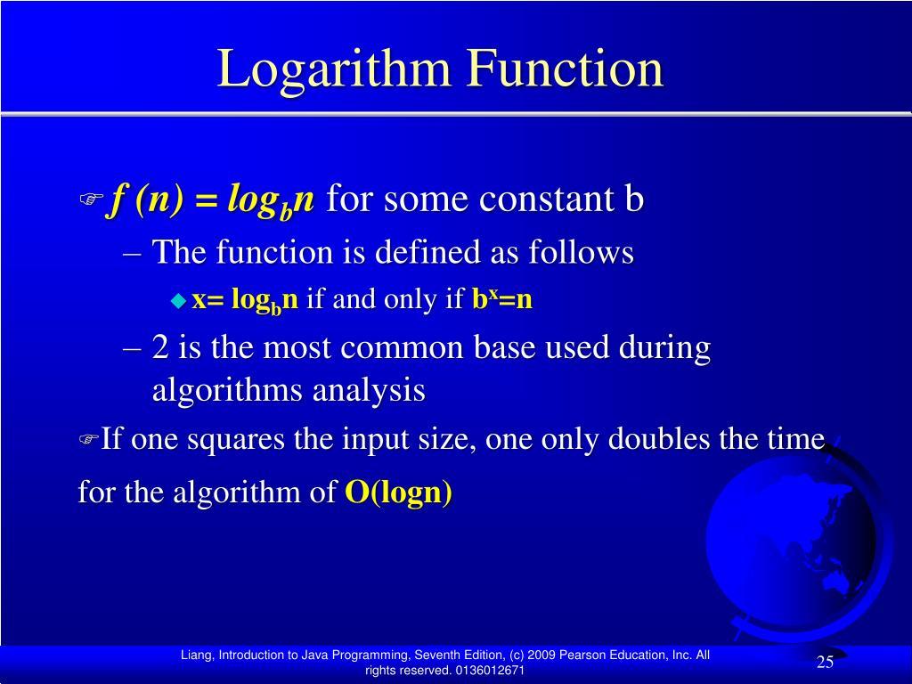 Logarithm Function