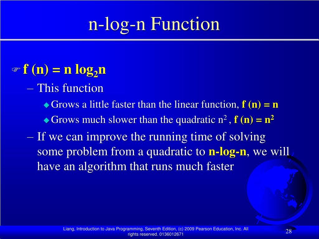 n-log-n Function