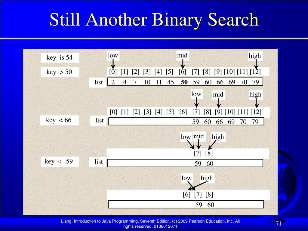 Still Another Binary Search