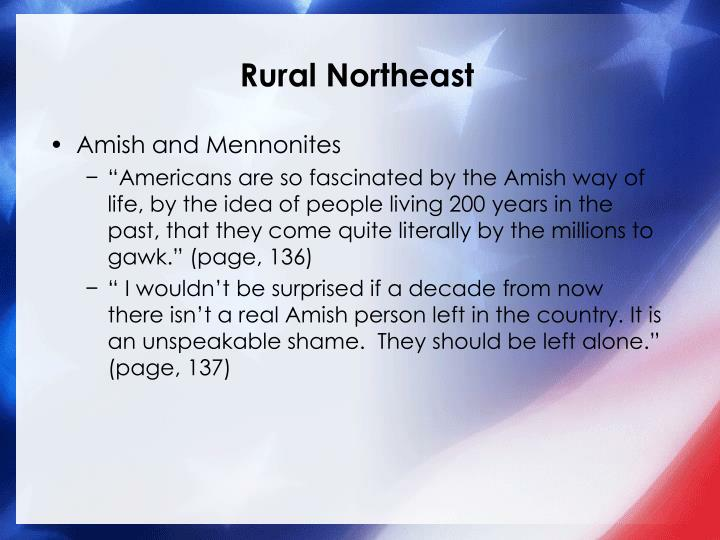 Rural Northeast