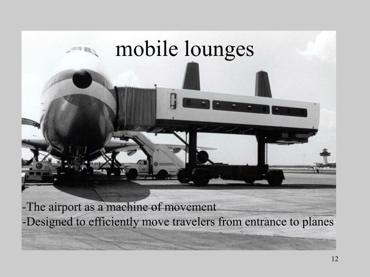 mobile lounges