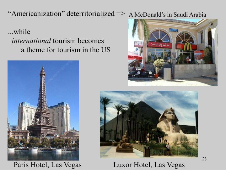 """Americanization"" deterritorialized =>"