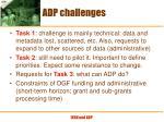 adp challenges