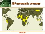 adp geographic coverage