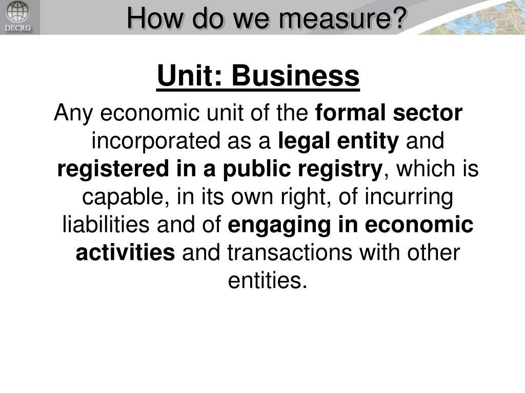 How do we measure?