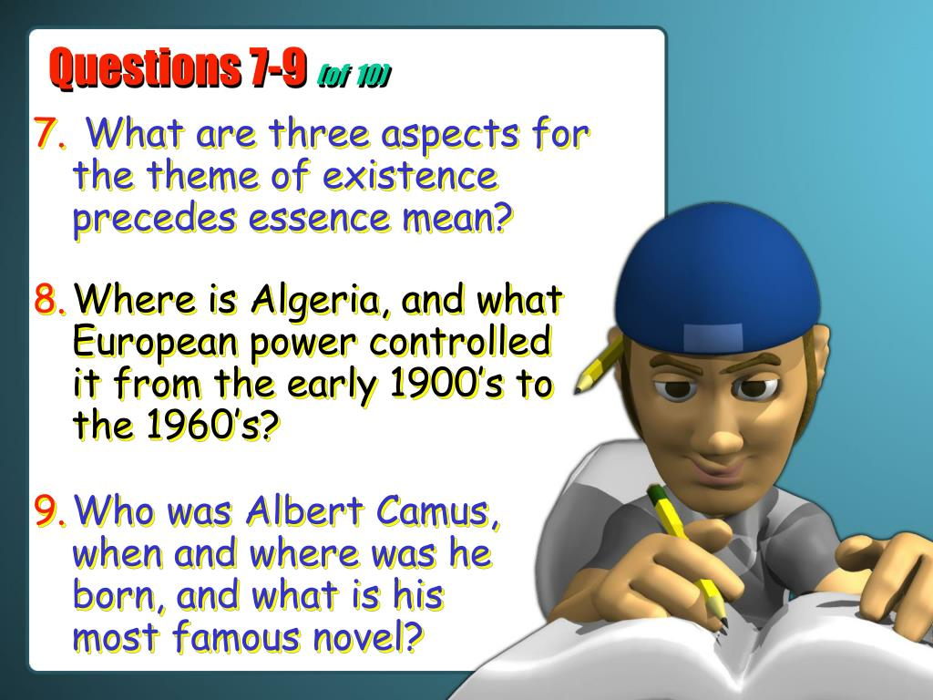 Questions 7-9