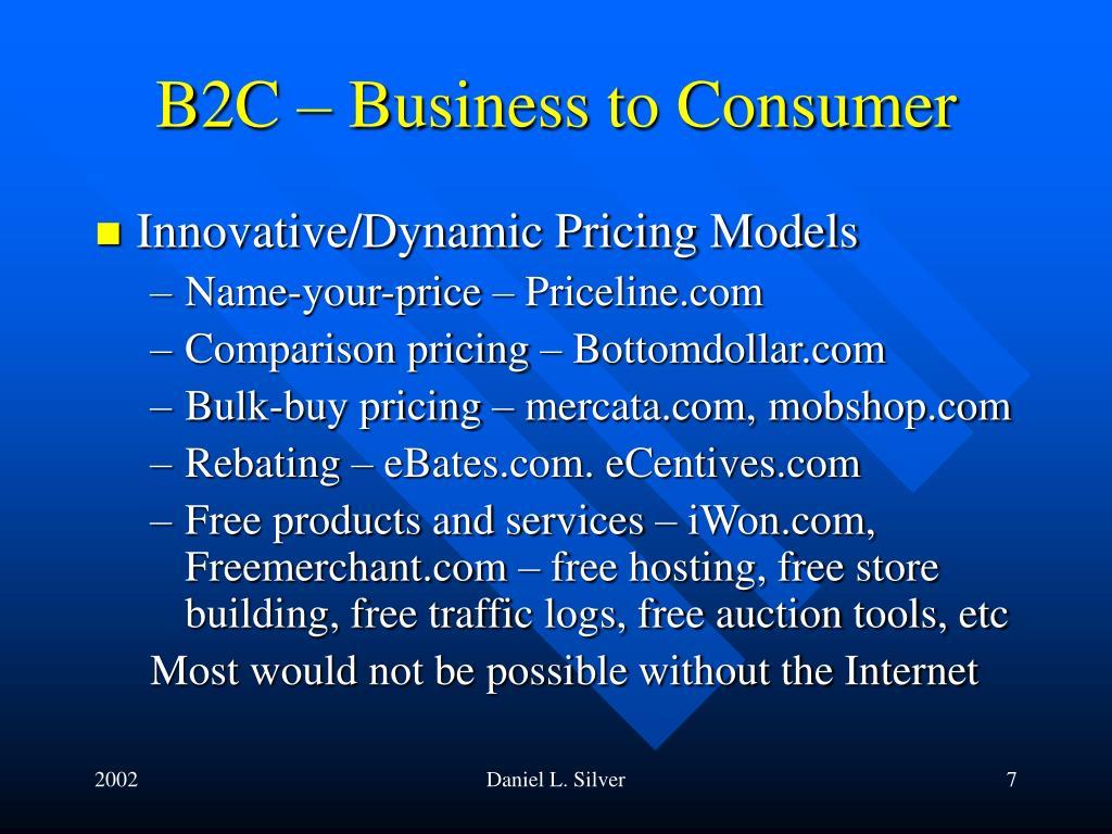 priceline com business model