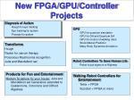 new fpga gpu controller projects