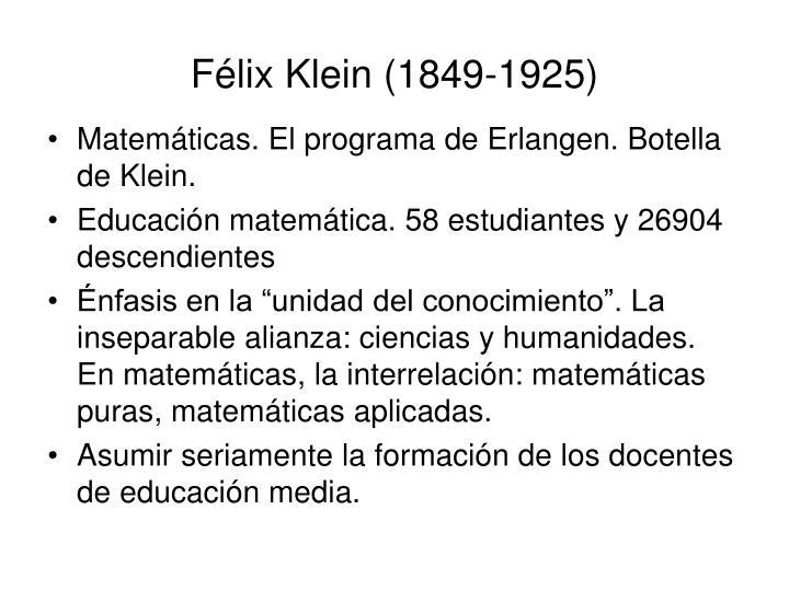 Félix Klein