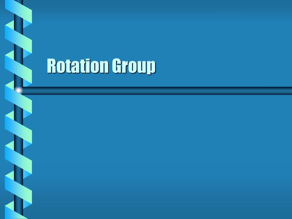 Rotation Group