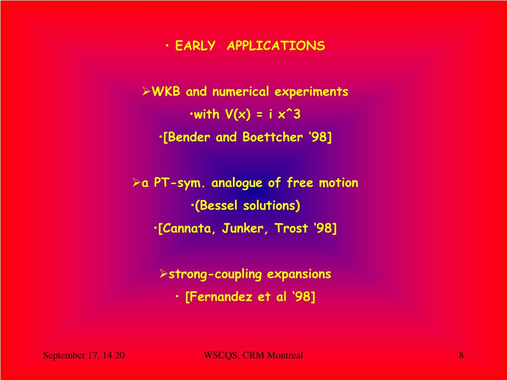 EARLY  APPLICATIONS