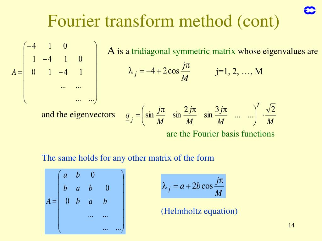 The same holds for any other matrix of the form