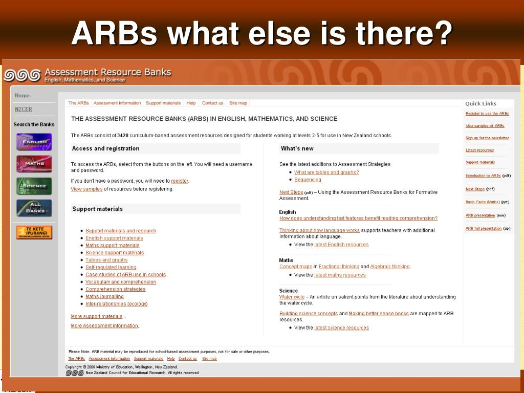 ARBs what else is there?