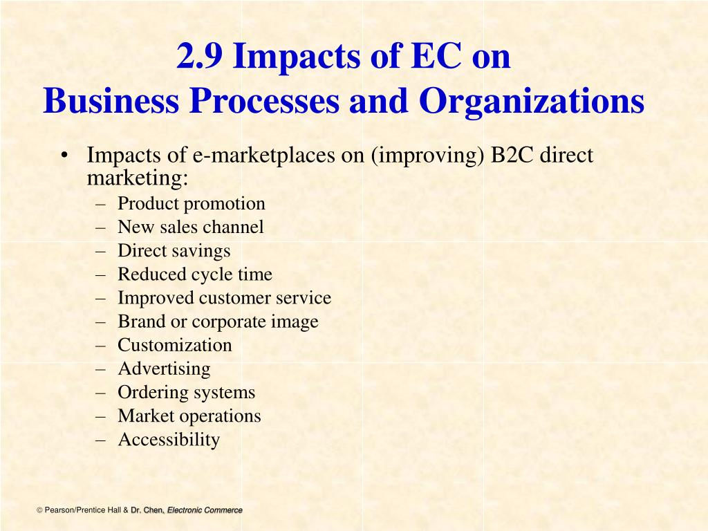 2.9 Impacts of EC on