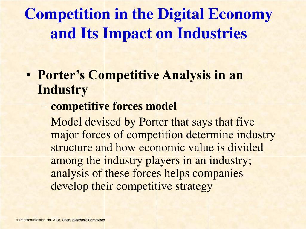 Competition in the Digital Economy