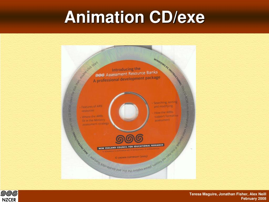 Animation CD/exe
