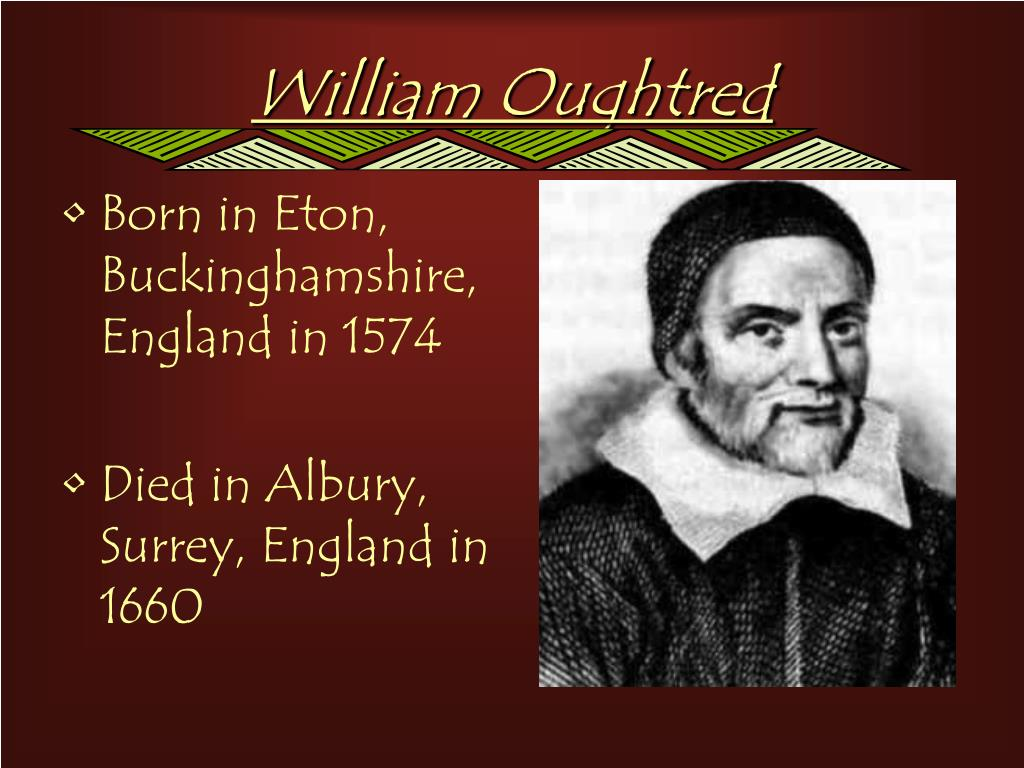 William Oughtred