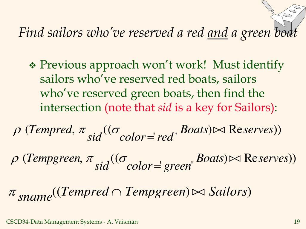Find sailors who've reserved a red