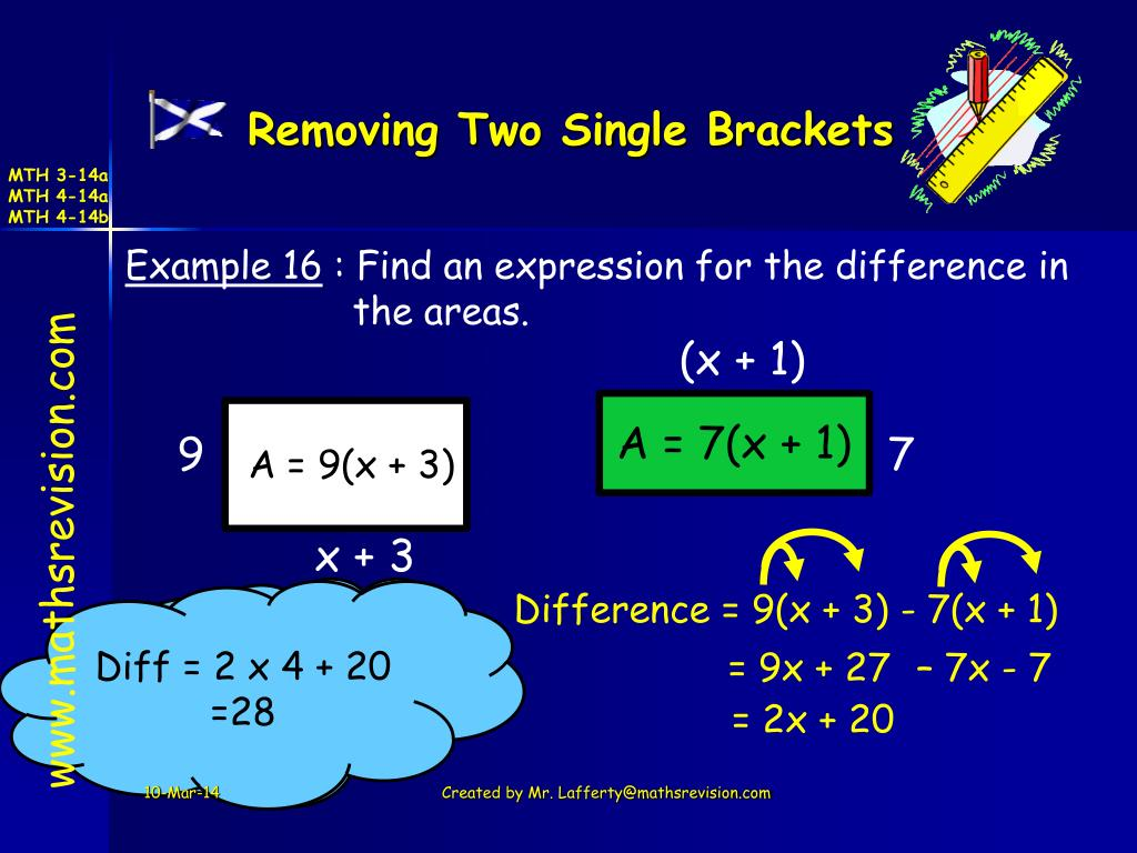 Removing Two Single Brackets