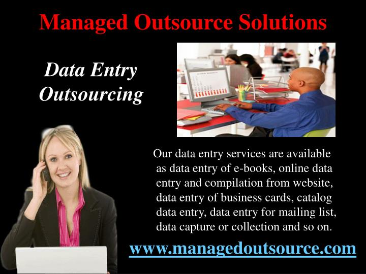 Managed outsource solutions3
