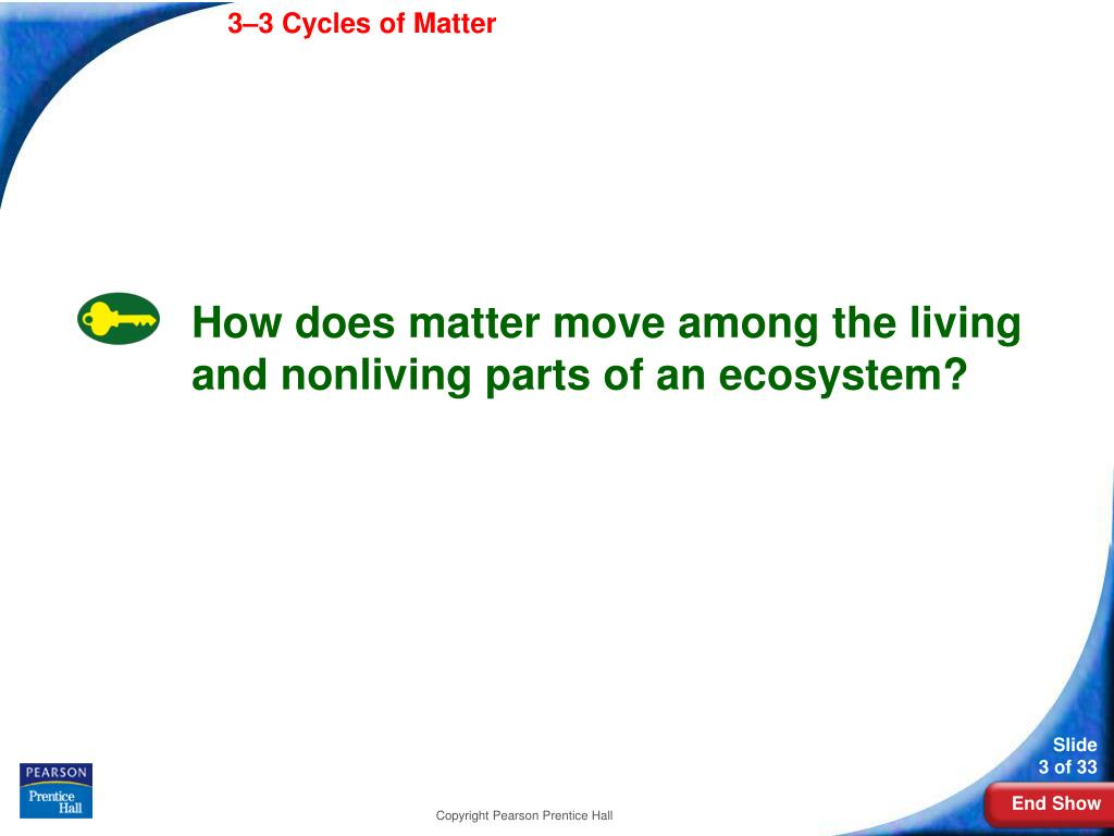 3-3Cycles of Matter