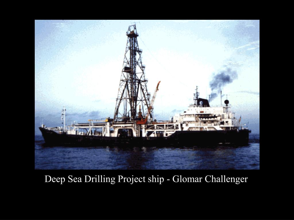 Deep Sea Drilling Project ship - Glomar Challenger