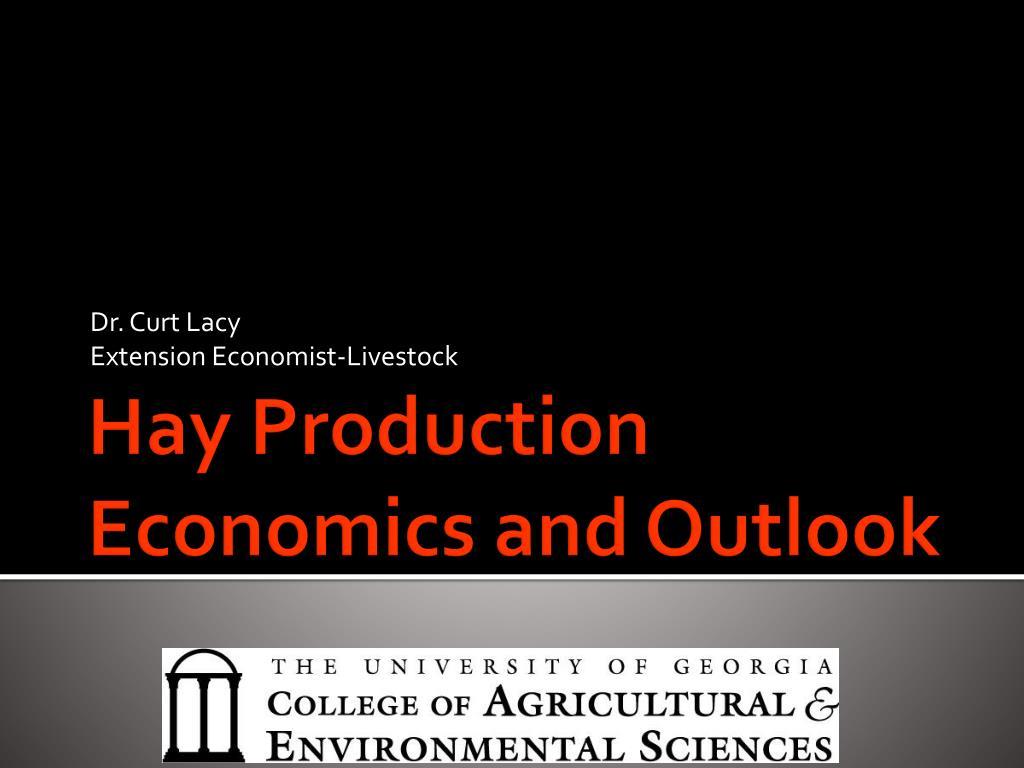 dr curt lacy extension economist livestock