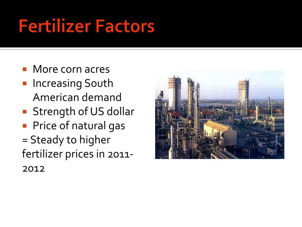 Fertilizer Factors