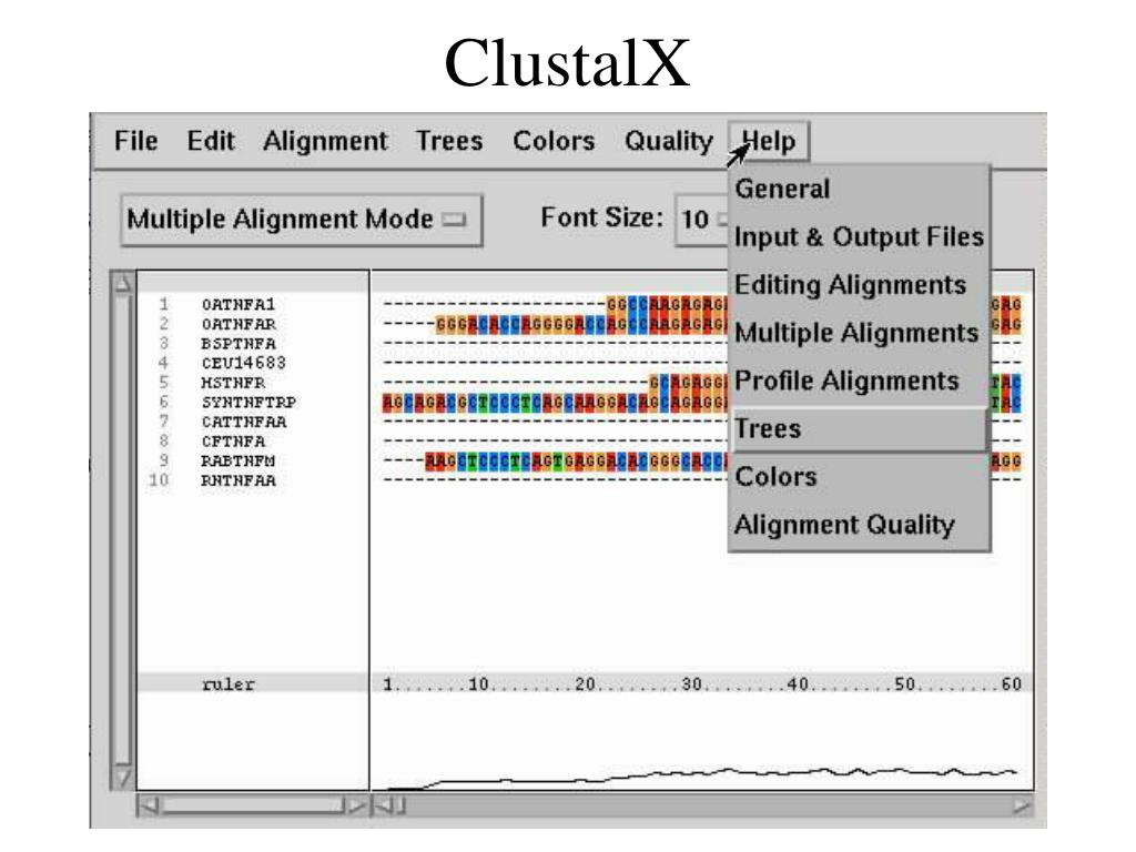 ClustalX