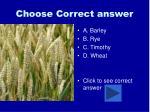 choose correct answer100