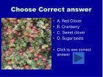 choose correct answer20