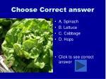 choose correct answer34