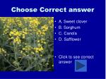 choose correct answer36