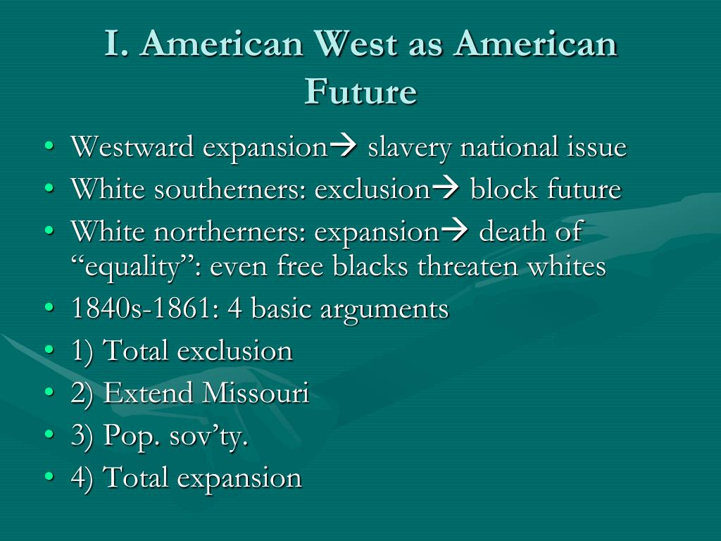 I. American West as American Future