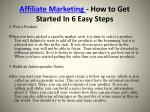 affiliate marketing how to get started in 6 easy steps4
