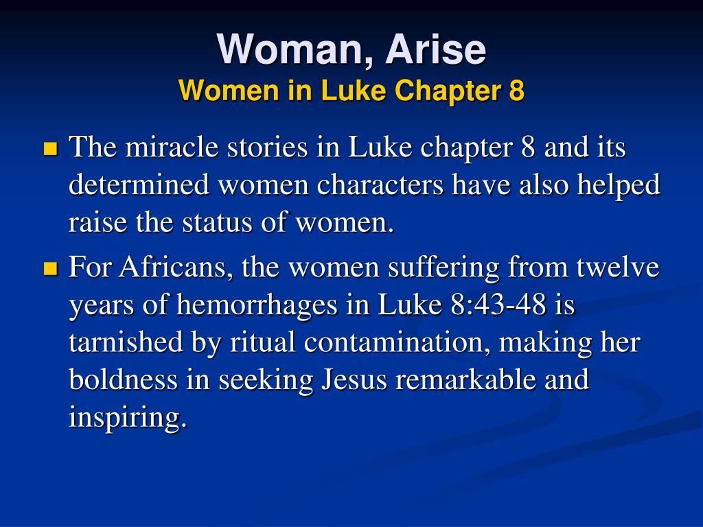 Woman, Arise