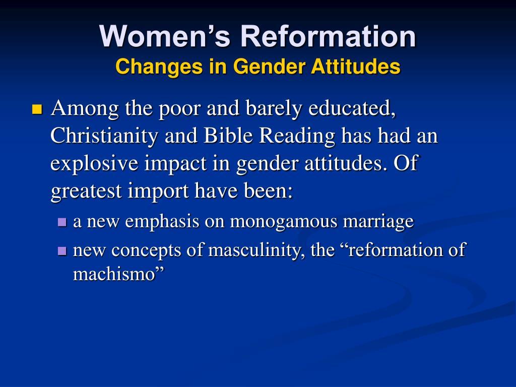 Women's Reformation