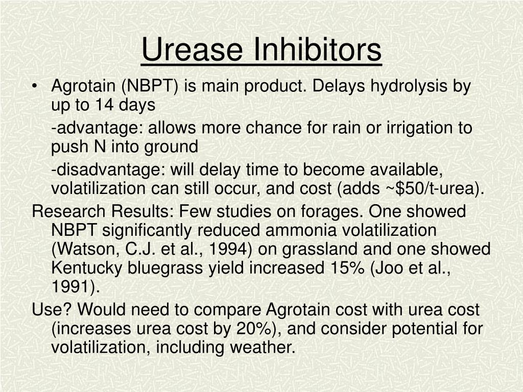 Urease Inhibitors