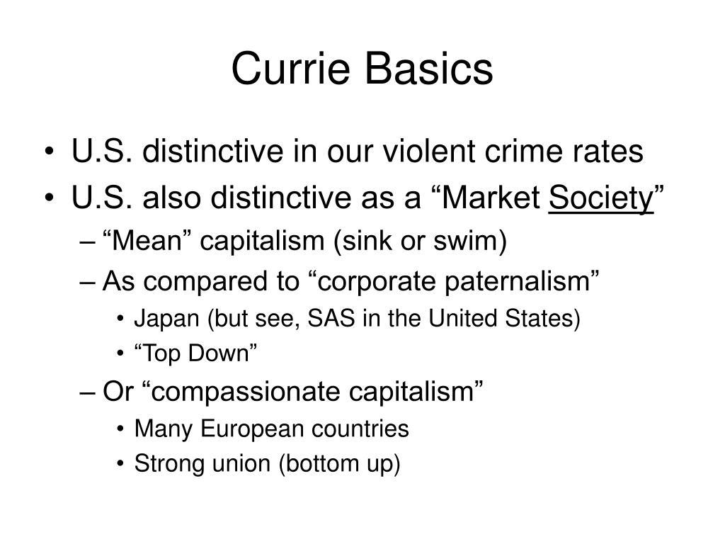 Currie Basics