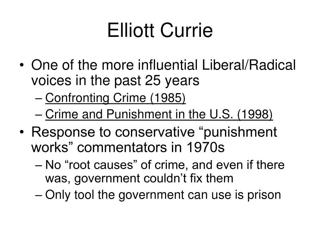 Elliott Currie