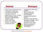 debate dialogue