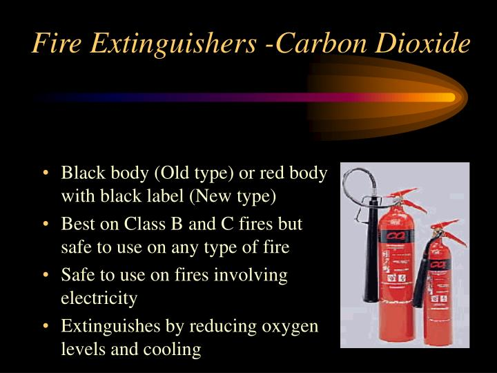 Fire Extinguishers -Carbon Dioxide