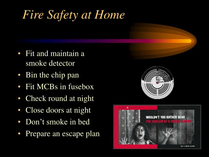 Fire Safety at Home