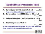 substantial presence test18