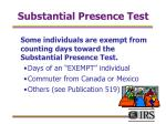 substantial presence test20