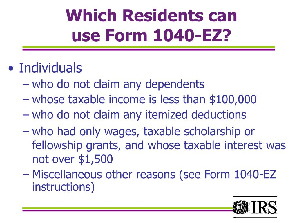 Which Residents can