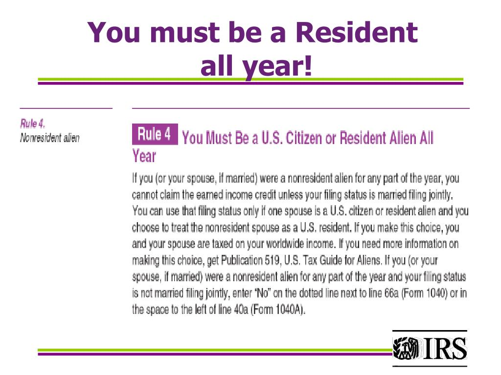 You must be a Resident