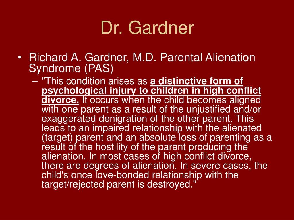 Dr. Gardner