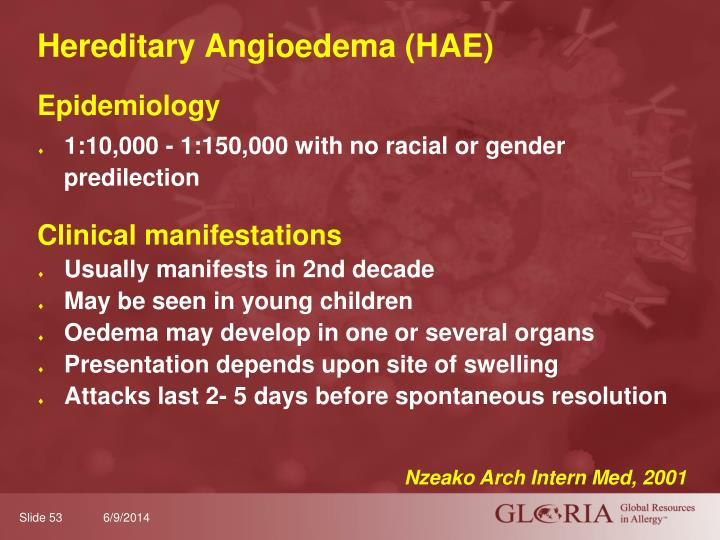 Hereditary Angioedema (HAE)