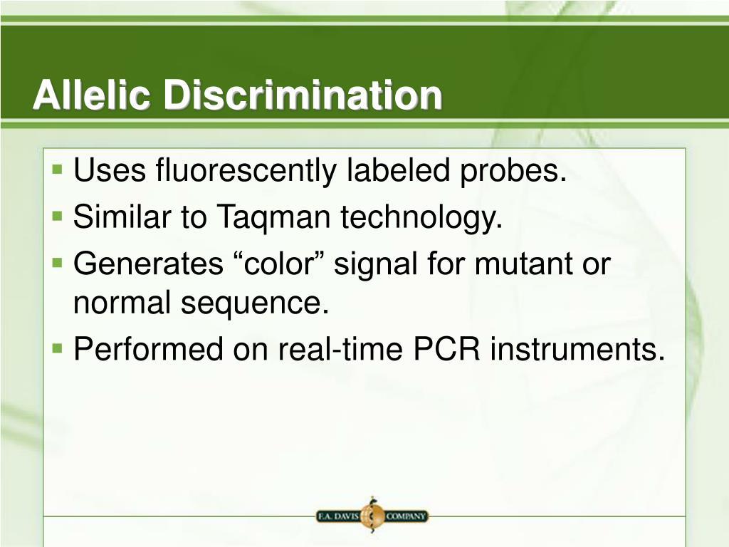 Allelic Discrimination